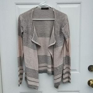 The Limited beige open front Cardigan size s